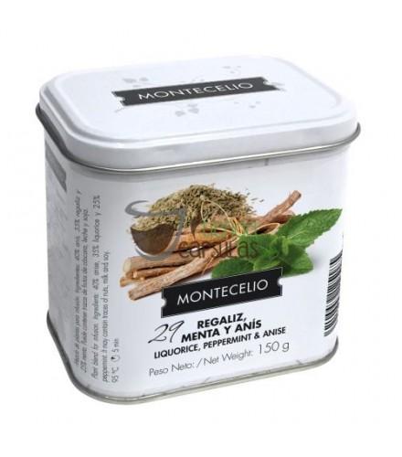 Infusión granel Montecelio - Regaliz, Menta y Anís - 150g