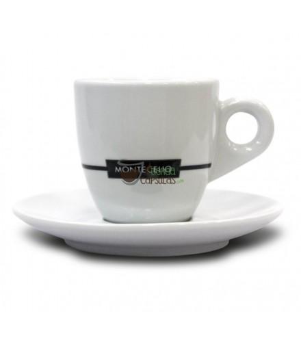 Taza + Plato Montecelio - Café cortado - 1 unidad