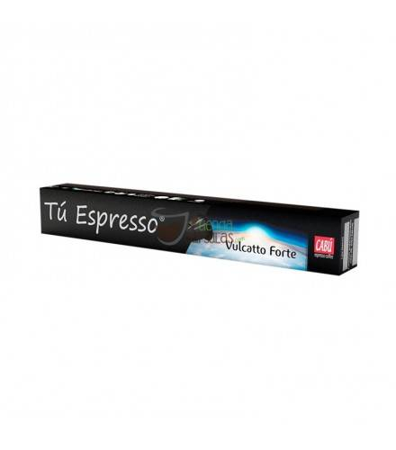 Cabú Coffee - Nespresso® Vulcatto Forte - 10 cápsulas