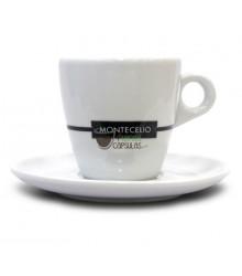 Taza + Plato Montecelio - Café con leche - 1 unidad