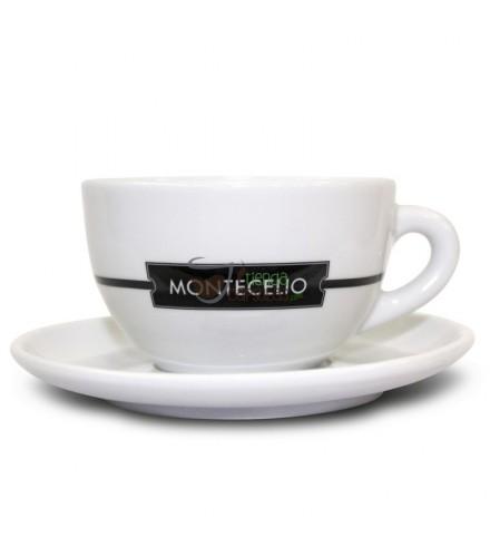 Taza + Plato Montecelio - Cappuccino - 1 unidad