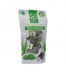 Infusión pirámide Cuidaté - Té Verde con hierbabuena - 10 unidades