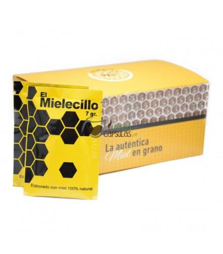 Miel granulada en polvo - Melgra® - 20 sobres de 7 gramos