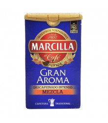 Café molido Marcilla - Gran Aroma Descafeinado Mezcla - 200g