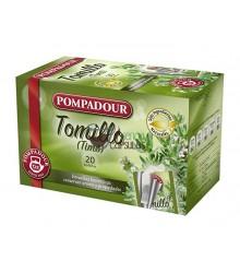 Infusión bolsitas Pompadour® - Tomillo - 20 unidades