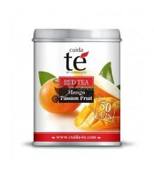 Infusión granel Cuidaté - Té Rojo con Mango y Maracuyá - 100g