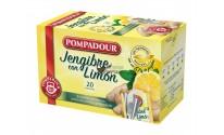 Infusión bolsitas Pompadour® - Jengibre con Limón - 20 unidades