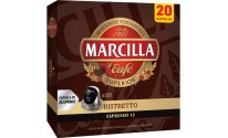 Cápsulas Nespresso®* Marcilla - 12 Ristretto - 20 unidades