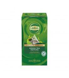 Infusión pirámide Lipton - Té Verde Matcha - 25 unidades