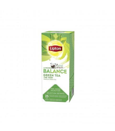 Infusión bolsita hermética Lipton - Té Verde - 25 unidades