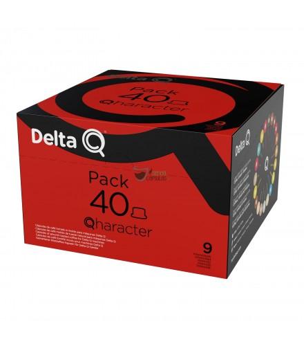 Cápsulas Delta® Q - 9 Qharacter - 40 unidades