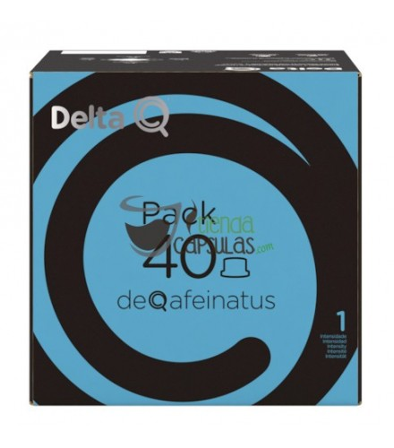 Cápsulas Delta® Q - 1 deQafeinatus - 40 unidades