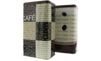 Lata para guardar café, cápsulas o galletas (1 kg) - CAFÉ FOR YOU - 1 unidad