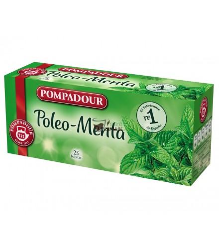 Infusión bolsitas Pompadour® - Poleo-Menta - 25 unidades