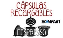 Cápsulas Nespresso®* Emocup Recargables