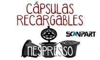 Cápsulas Nespresso®* Scanpart Recargables