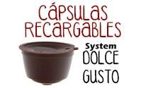 Cápsulas Dolce Gusto®** Scanpart Recargables