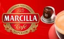 Cápsulas Nespresso®* Marcilla