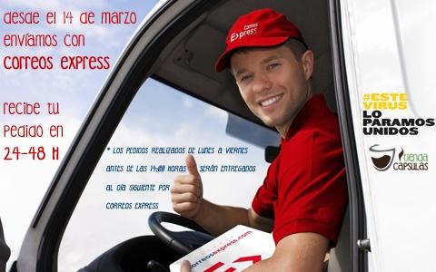 Enviós en 24-48 horas por Correos Express